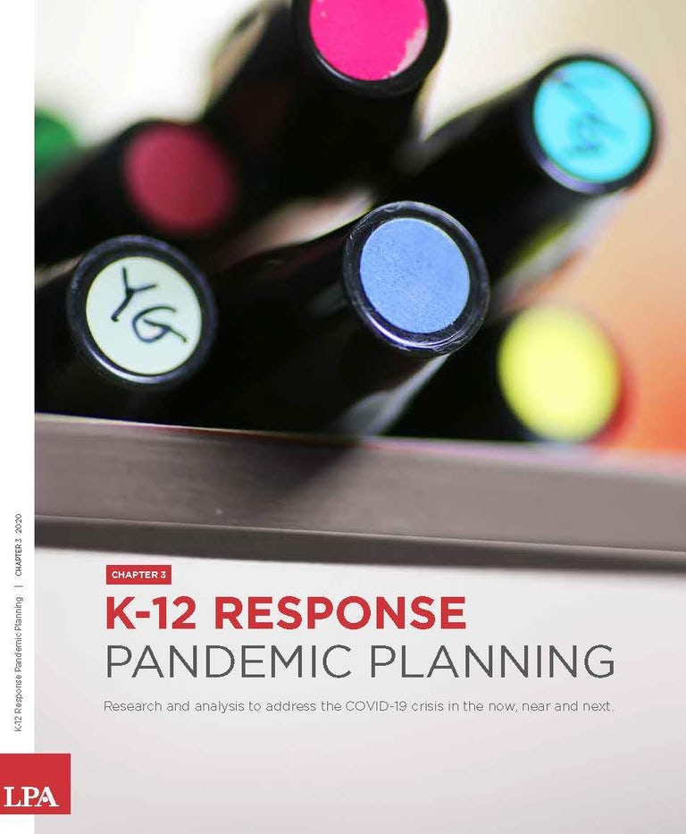 K12 Response Pandemic Planning Chapter Three Cover