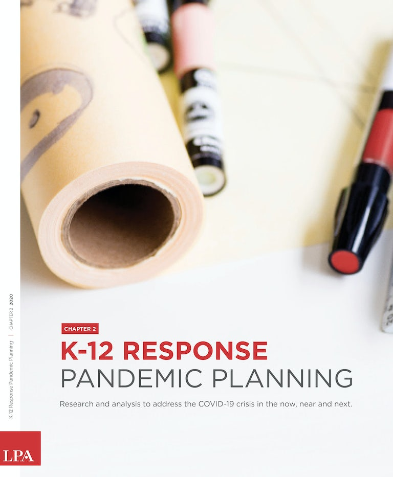 K12 Response Pandemic Planning Chapter Two Cover