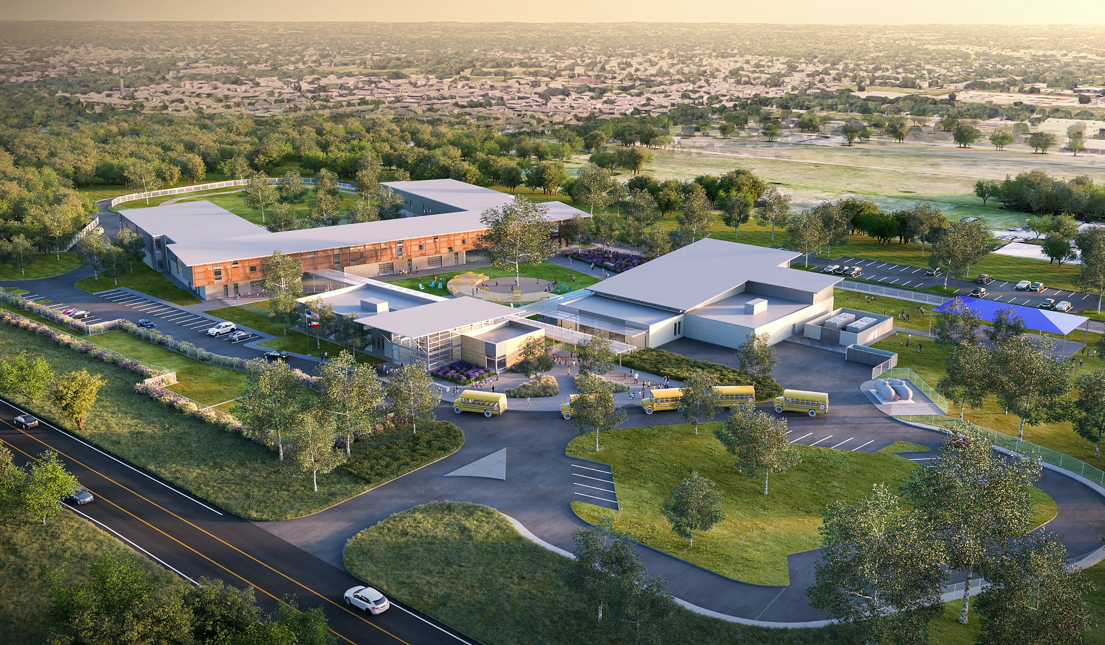Designing a New School for Austin, Texas