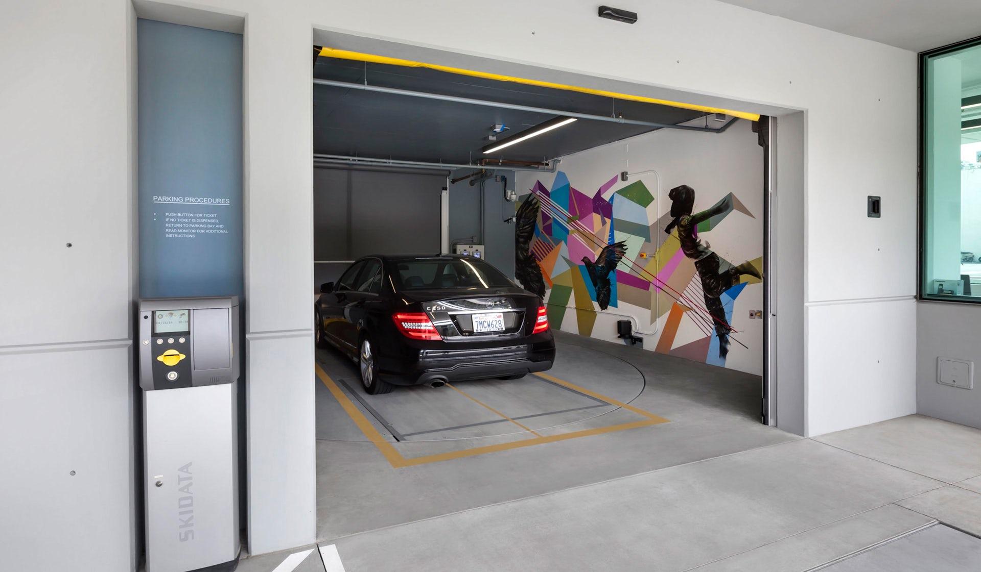 West Hollywood Automated Parking Garage - LPA Inc