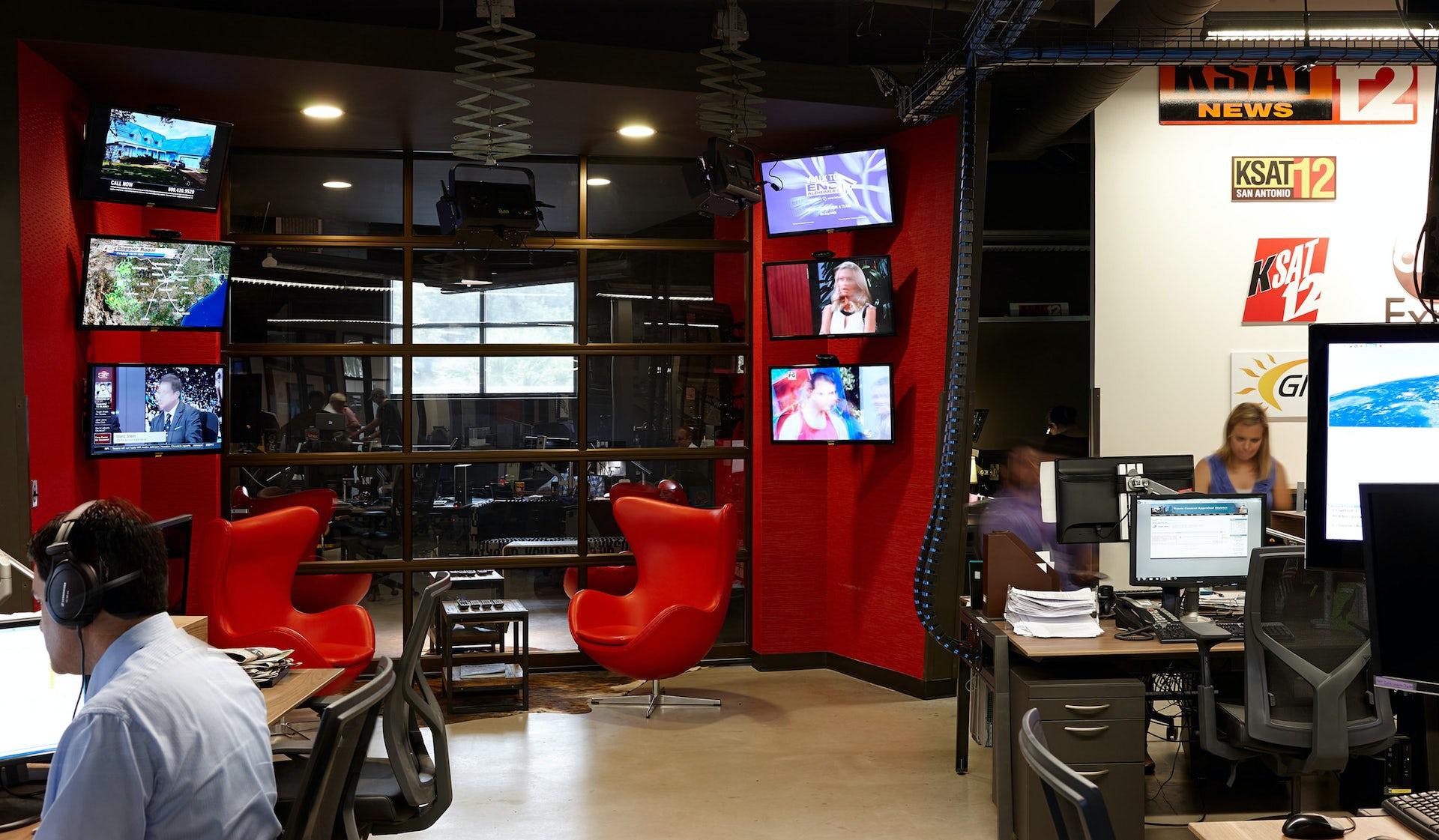 KSAT-TV Headquarters - LPA Inc
